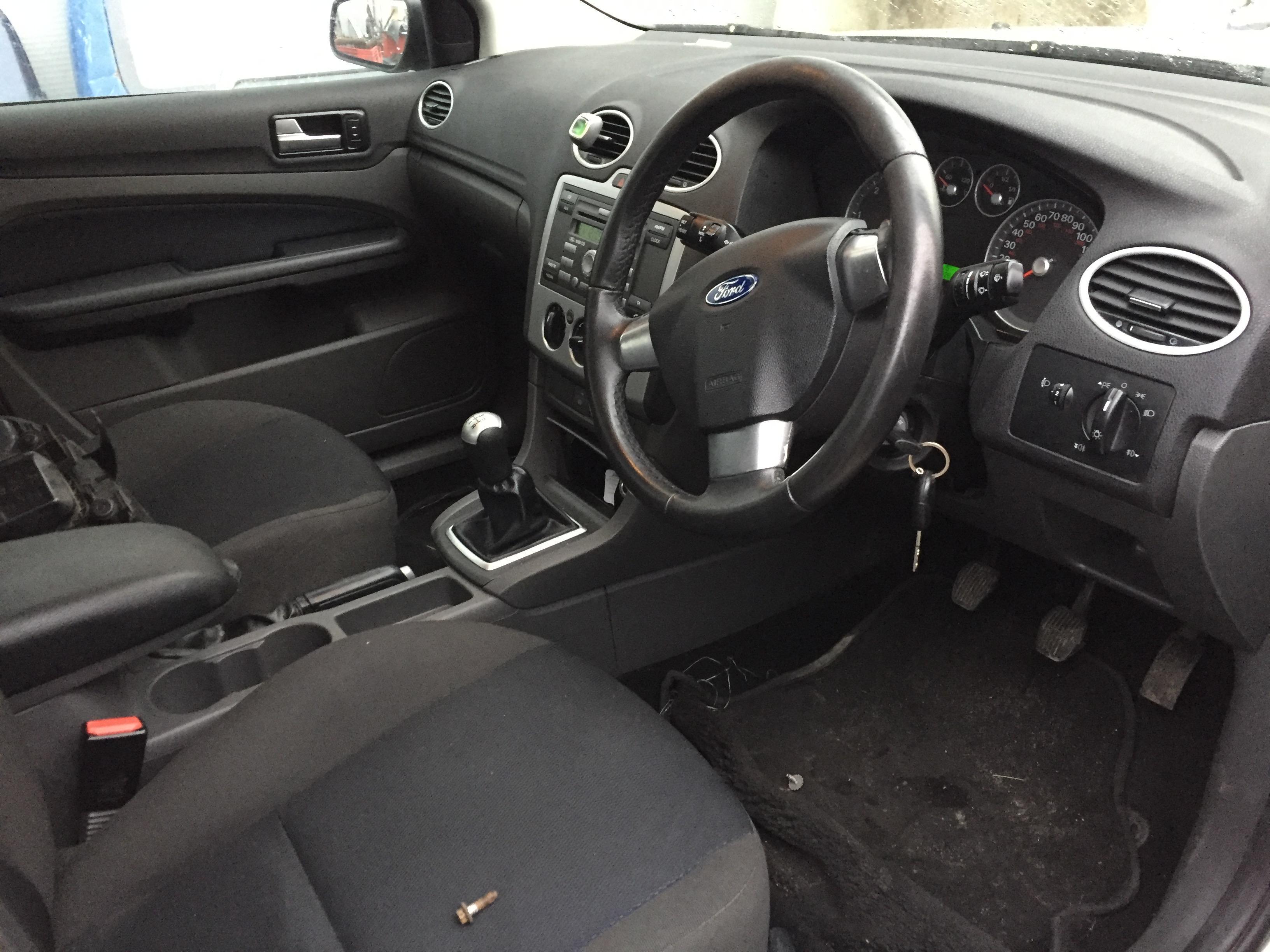 Naudotos automobilio dalys Ford FOCUS 2005 1.6 Mechaninė Hečbekas 4/5 d. Sidabrine 2017-11-07