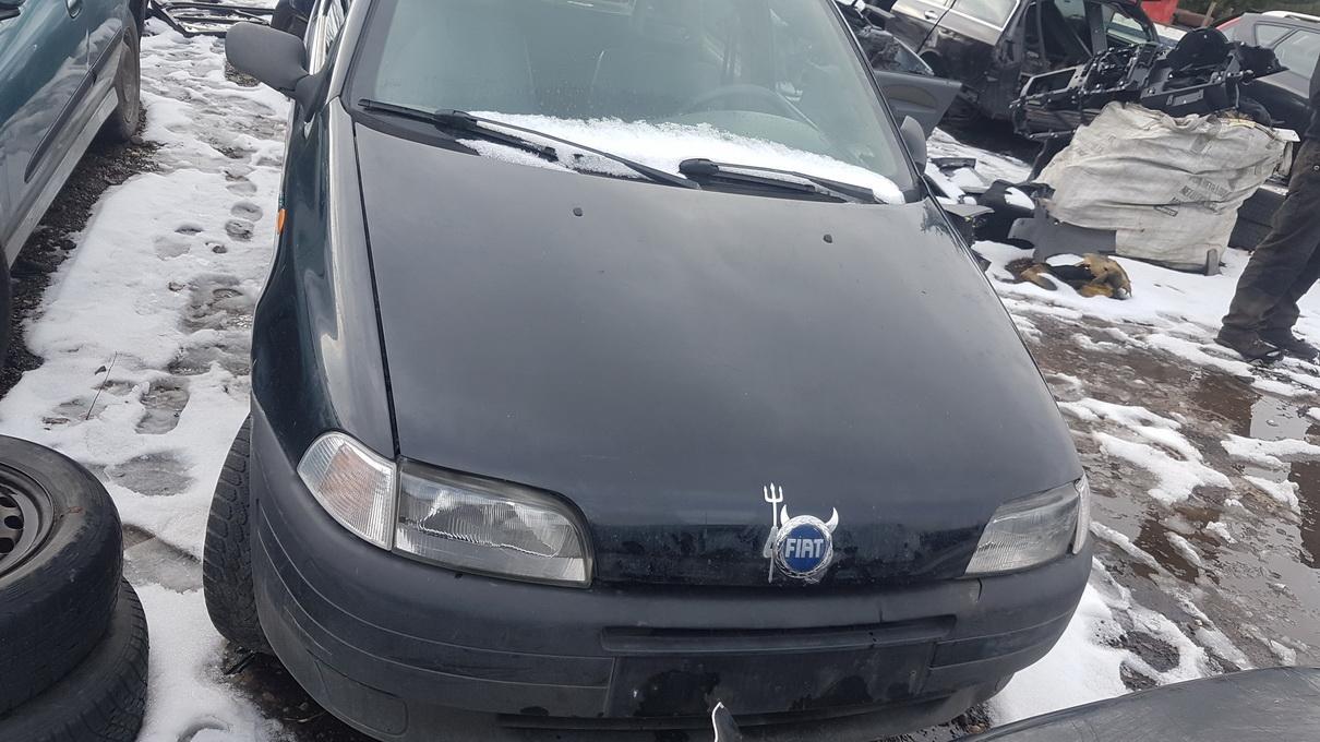 Naudotos automobilio dalys Fiat PUNTO 1996 1.7 Mechaninė Hečbekas 2/3 d. Juoda 2017-3-08