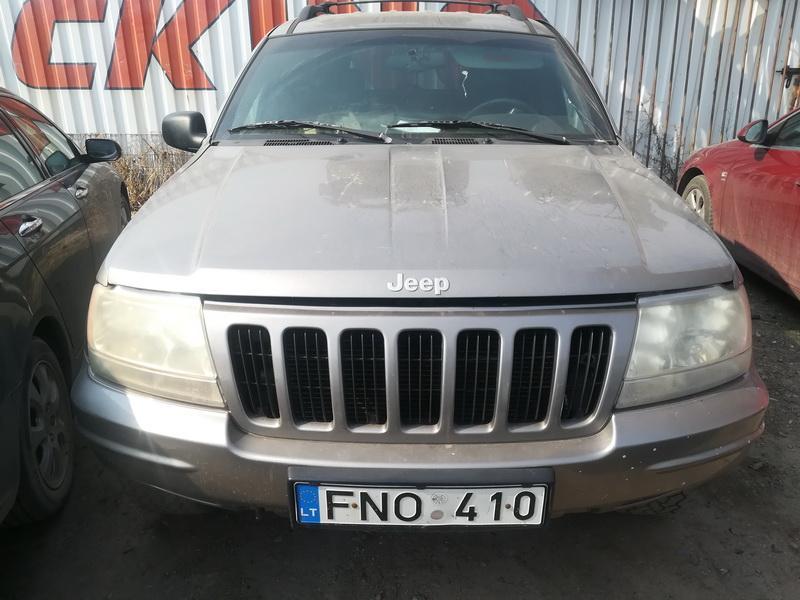 Naudotos automobilio dalys Jeep GRAND CHEROKEE 1999 3.1 Automatinė Visureigis 4/5 d. Pilka 2019-4-08