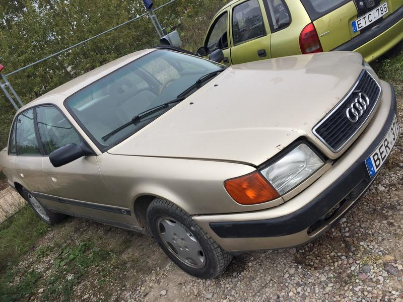 Naudotos automobiliu dallys Foto 3 Audi 100 1991 2.3 Automatinė Sedanas 4/5 d. Geltona 2018-9-17 A4082