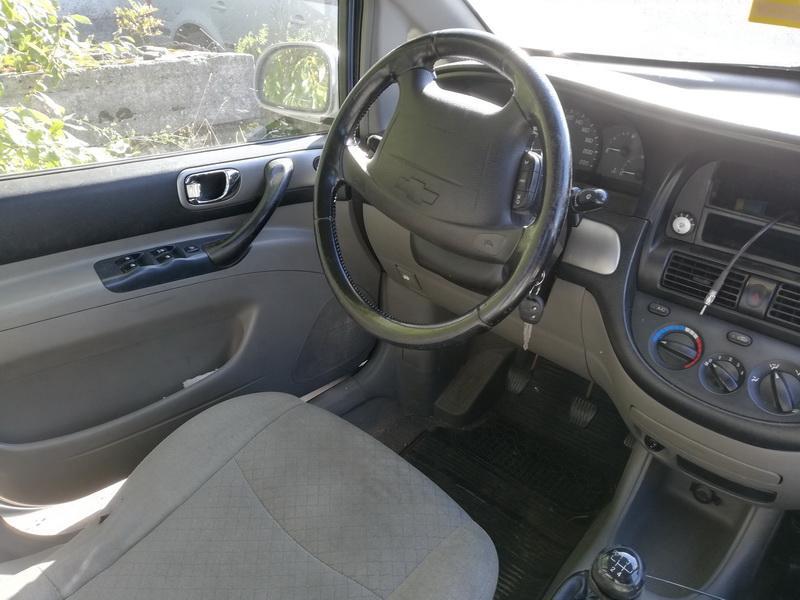 Naudotos automobiliu dallys Foto 5 Chevrolet TACUMA 2005 1.6 Mechaninė Vienatūris 4/5 d. Sidabrine 2019-9-27 A4792