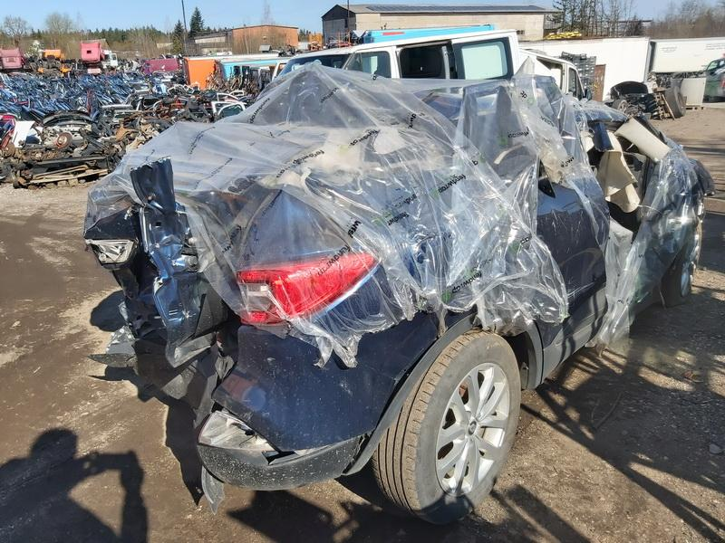 Naudotos automobilio dalys Renault KADJAR 2016 1.5 Mechaninė Visureigis 4/5 d. Melyna 2020-3-31
