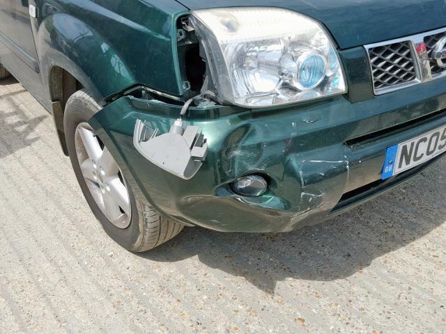 Naudotos automobiliu dallys Foto 5 Nissan X-TRAIL 2005 2.2 Mechaninė Visureigis 4/5 d. Zalia 2019-7-25 A4651