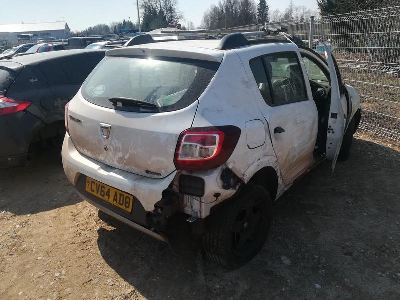 Naudotos automobilio dalys Dacia SANDERO 2014 1.5 Mechaninė Hečbekas 4/5 d. Balta 2019-4-23