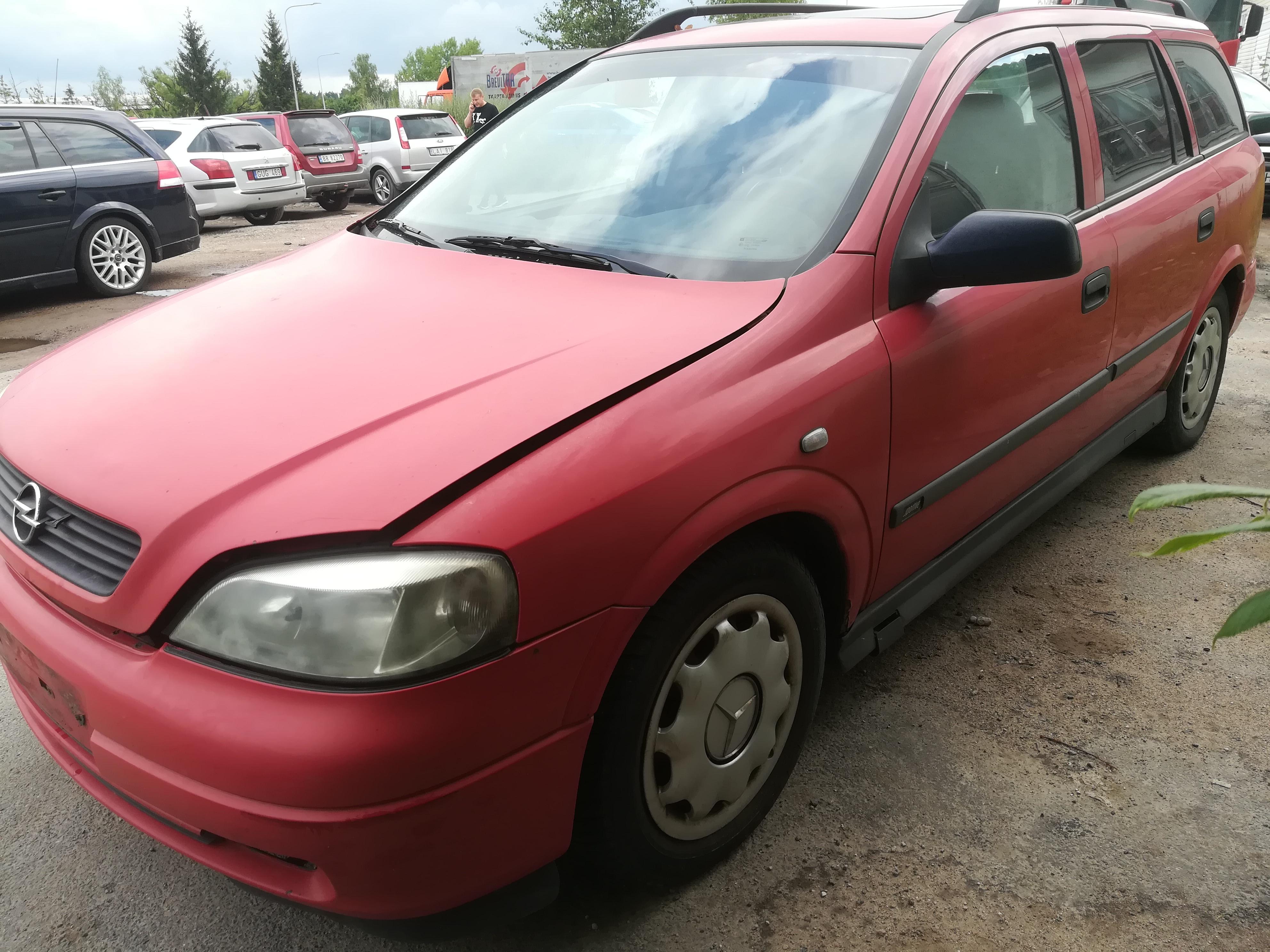 Naudotos automobiliu dallys Foto 8 Opel ASTRA 1999 2.0 Mechaninė Universalas 4/5 d. Raudona 2019-7-18 A4637