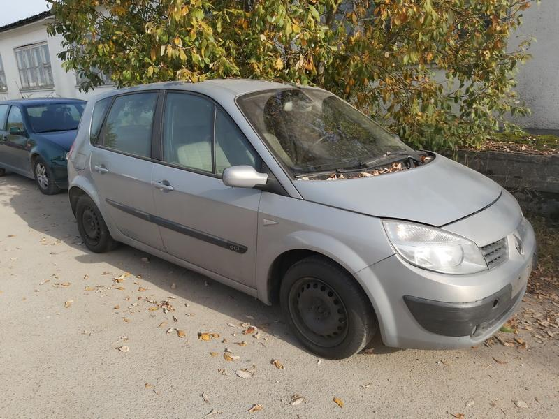 Naudotos automobilio dalys Renault SCENIC 2003 1.5 Mechaninė Vienatūris 4/5 d. Pilka 2020-9-29
