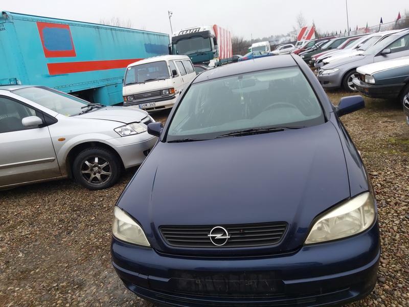 Naudotos automobiliu dallys Foto 4 Opel ASTRA 1999 1.7 Mechaninė Hečbekas 4/5 d. Melyna 2020-1-10 A5000