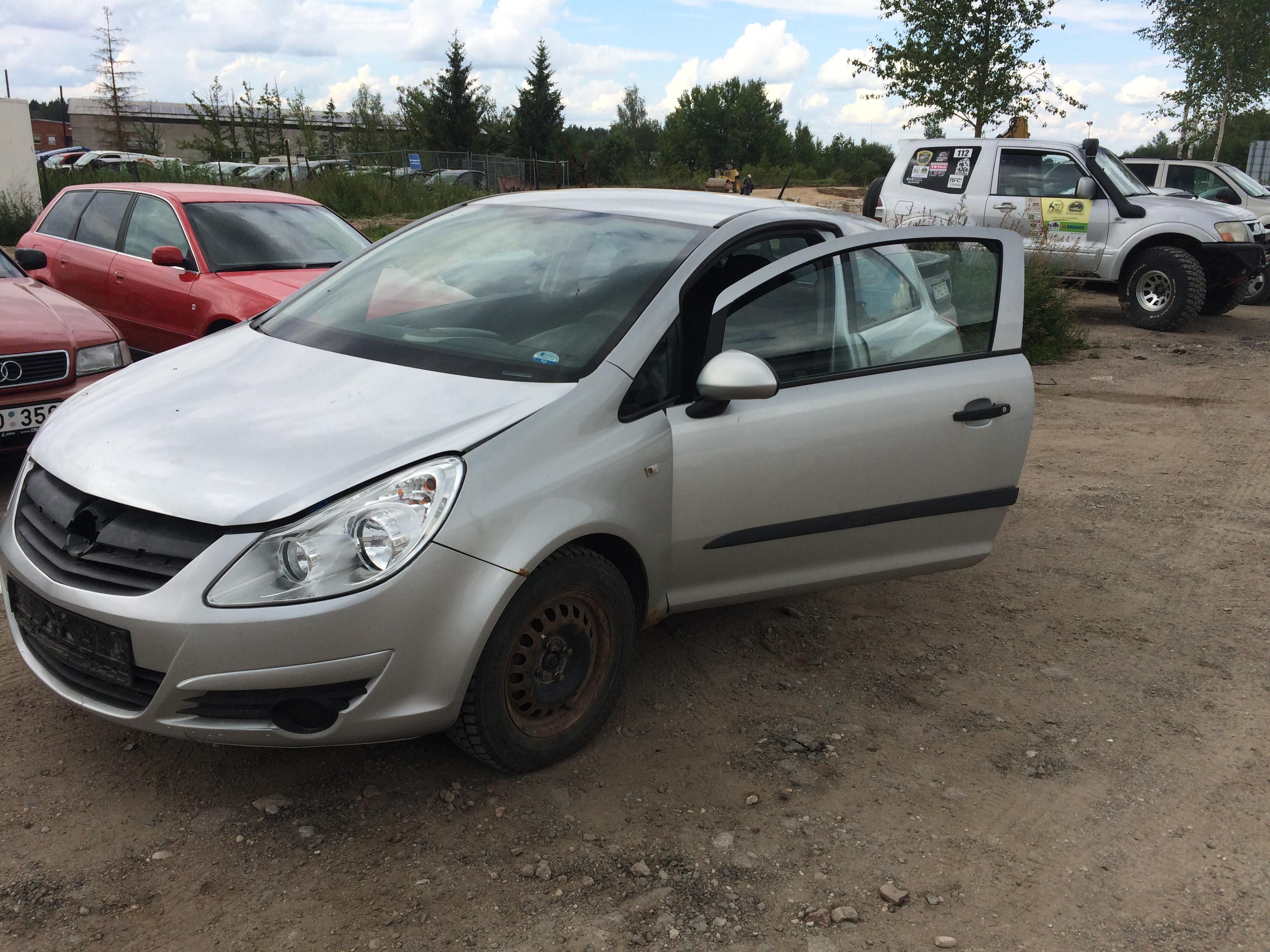 Подержанные Автозапчасти Foto 3 Opel CORSA 2008 1.3 машиностроение хэтчбэк 2/3 d. Серый 2018-7-11 A3933