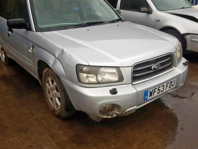 Naudotos automobiliu dallys Foto 5 Subaru FORESTER 2003 2.0 Automatinė Visureigis 4/5 d. Sidabrine 2019-6-27 A4584