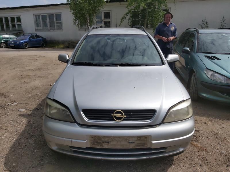 Naudotos automobiliu dallys Foto 3 Opel ASTRA 1998 2.0 Mechaninė Universalas 4/5 d. Pilka 2020-7-28 A5465