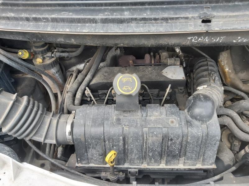 Naudotos automobiliu dallys Foto 3 Ford TRANSIT 2000 2.0 Mechaninė Krovininis mikroautobusas 2/3 d. Balta 2020-4-28 A5240