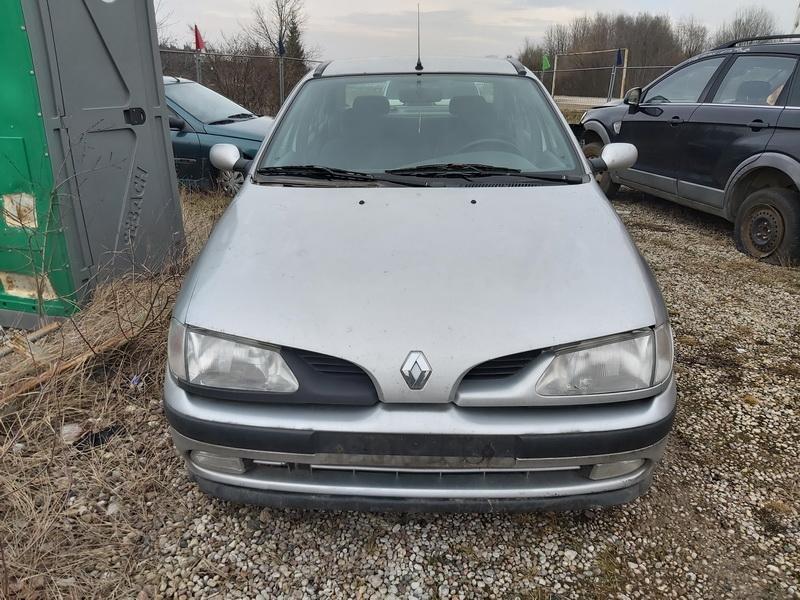 Naudotos automobilio dalys Renault MEGANE 1998 1.6 Mechaninė Sedanas 4/5 d. Sidabrine 2020-1-15