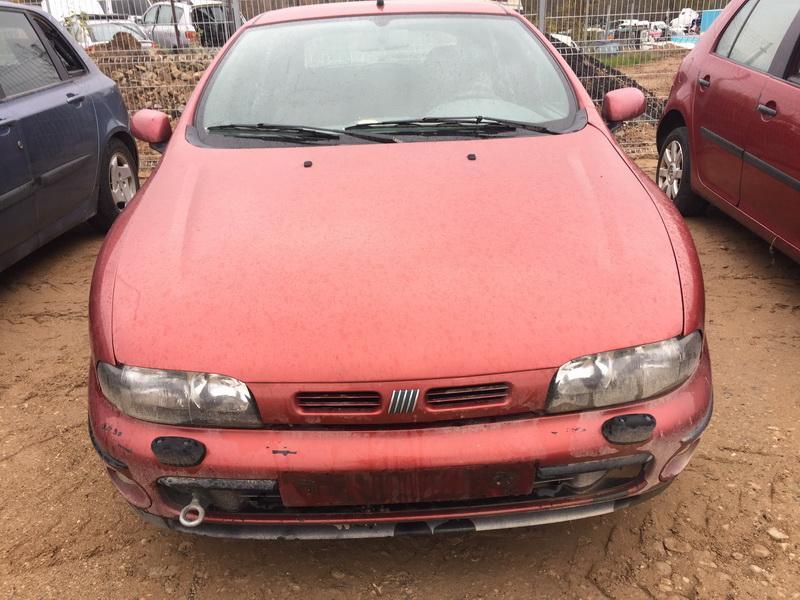 Naudotos automobilio dalys Fiat BRAVA 1996 1.4 Mechaninė Hečbekas 4/5 d. Raudona 2018-10-20